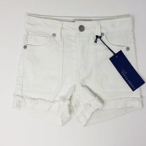 Habitual Girl White Shorts 5/6